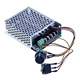 12v 24v 36v 48v 40A PWM DC Motor Speed Controller Forward Reverse Controller with Motor Down Switch Metal Shell Case