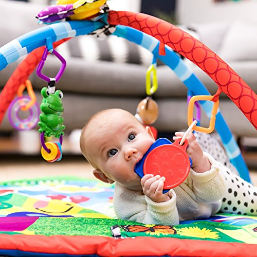 51RP2rGHoQL - Baby Einstein Caterpillar & Friends Play Gym with Lights and Melodies, Ages Newborn +