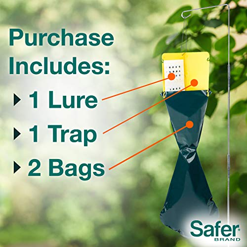 Safer Brand 70102 Japanese Beetle Trap with Attractant