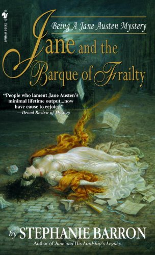 Jane and the Barque of Frailty (Being a Jane Austen Mystery Book 9)
