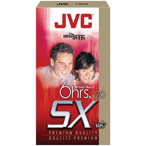 JVC T-120DU Premium Quality Vhs Videocassettes (Discontinued by Manufacturer)