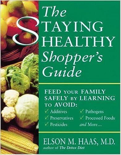 Télécharger gratuitement le livreThe Staying Healthy Shopper's Guide by Elson M. Haas 089087882X PDF DJVU