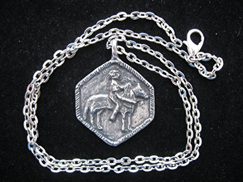 St Martin of Tours, Patron of Horses and Their Riders, Handmade Necklace