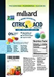 Milliard Citric Acid 2 Pound - 100% Pure Food Grade