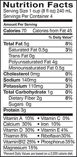 Pacific Foods, Unsweetened Hemp - Original (Pack of 12)