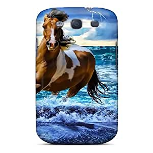Fashion Protective Fantasy Horse In Sea Sky Case Cover For Galaxy S3