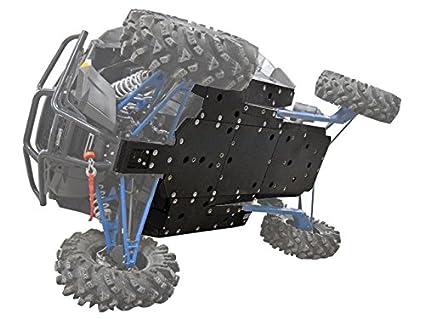 """Super ATV 1/2"""" UHMW Skid Plate (16+) Polaris RZR XP"""