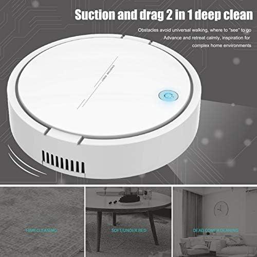 Mdsfe Multifonctionnel Rechargeable Robot Intelligent Aspirateur Balayeuse Automatique Mop Machine Robot Aspirateur - Blanc, A1