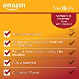 Amazon Basic Care Nicotine Polacrilex Coated Gum 4