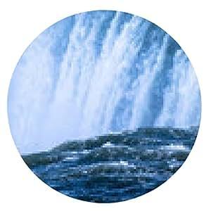alfombrilla de ratón la energía hidroeléctrica - ronda - 20cm