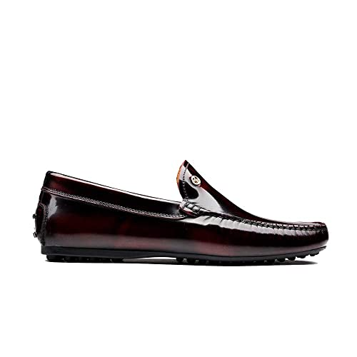 Amazon.com: OPP Hombres Casual piel Zapatos Slip-On Loafer ...