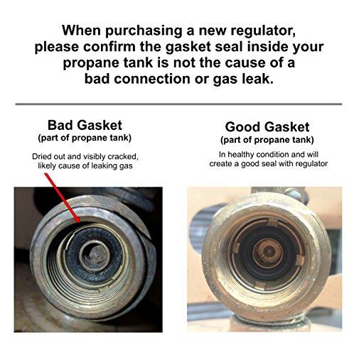 Weber 99281 Gas Grill Propane Regulator 41 Inch Hose for Genesis 300 Series Grills (2007-2010)