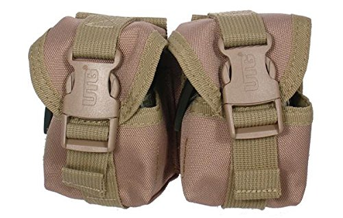 (Leapers UTG Web Systems Grenade Pouch w/ Patterned Quick Release Buckles -)