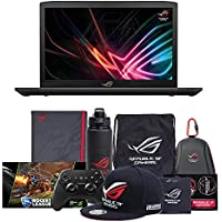 "ASUS ROG GL703VD-WB71 17.3"" FHD Gaming Laptop, GTX 1050, Intel Core i7-7700HQ, 1TB HDD, 16GB DDR4 RAM + Gaming Bundle"