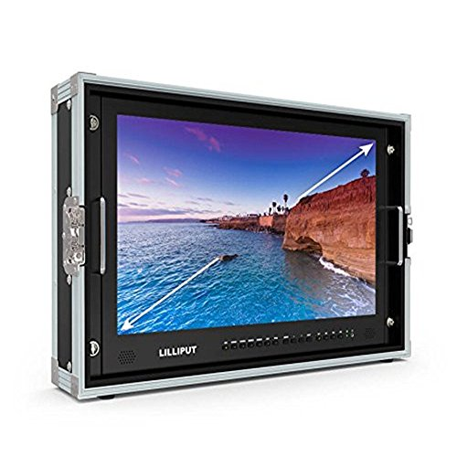 LILLIPUT BM280-4K 28' 4K 3840×2160 Ultra-HD resolution,4K Carry-on Broadcast Director Monitor SDI HDMI TALLY with Aluminum Case