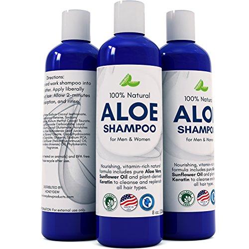Aloe Vera Shampoo With Sunflower Amp Keratin Natural