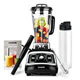 COSORI Blender(Recipe Book Included)1500W for Shakes and Smoothies, High Speed Smoothie Blender Maker