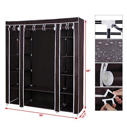 ... Clothes Storage Portable Wardrobes ULSF03K. SONGMICS ...