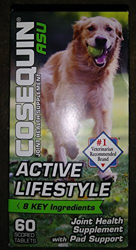 Cosequin ASU Active Lifestyle Joint & Pad Health For Dogs (60 Ct) -