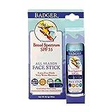 Badger SPF 35 Sport Sunscreen Face Stick - 0.65 oz Stick