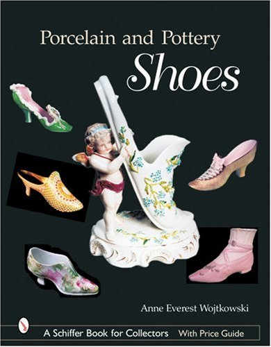 Porcelain And Pottery Shoes Collectible Glass Shoes