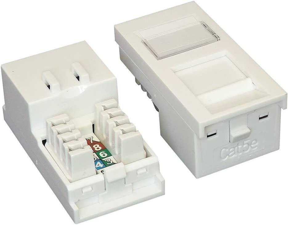 CAT 5E MODULE RJ45 UTP SHUTTERED Accessory Type Faceplate Connector Body Material ABS Acrylonitrile