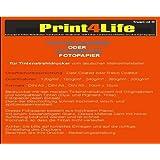 50 Blatt DIN A3 Fotopapier 240g /m² doppelseitig hochglänzend wasserfest lichtecht bis 9600 dpi bedruckbar Beidseitig beschichtet