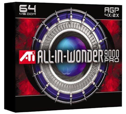 ATI Technologies Radeon 9000 Pro 64MB DDR AGP 2x/4x Graphics Card Ati Radeon 9000 Pro