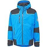 Helly Hansen Workwear Men's Chelsea Waterproof Shell Jacket, Racer Blue, XX-Large
