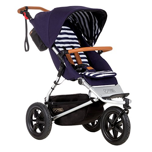 Mountain Buggy Urban Jungle Luxury Collection Stroller, Nautical (Mountain Buggy Jogging Stroller)