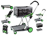Clax Cart Mobile Folding Cart- Grey