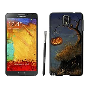 Special Custom Made Halloween Tree Black Samsung Galaxy Note 3 Case 1