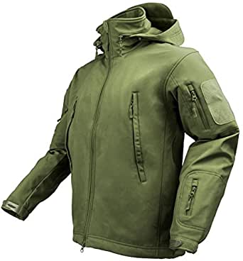Maelstrom? TAC PRO Soft Shell Tactical Jacket, Olive Drab, Size XS