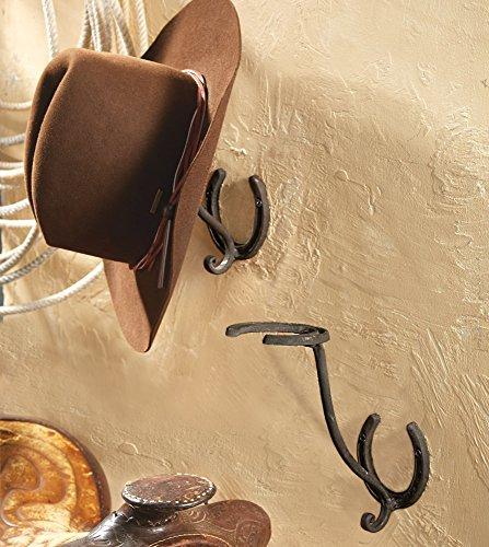 Horseshoe Cowboy Hat Rack (Western Hat Rack)