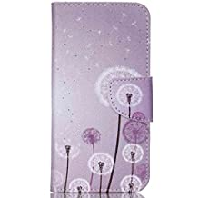 Acer Jade Z Case, Chinstyle Acer Liquid Jade Z Case Wallet Case Magnetic Closure Beautiful Dandelion Pattern Flip Cover