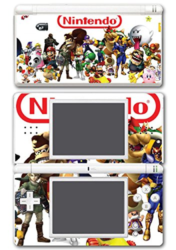 Donkey Kong Nds - Nintendo Characters Mario Ganondorf Link Bowser Peach Luigi Starfox Toad Donkey Diddy Kong Zelda Video Game Vinyl Decal Skin Sticker Cover for Nintendo DS Lite System