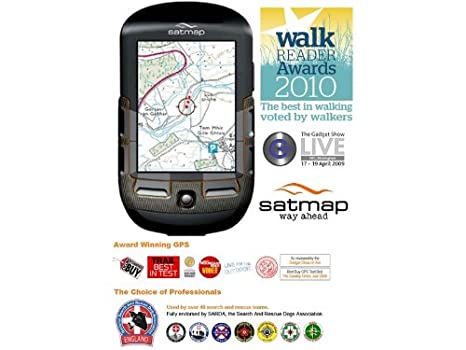 Satmap Active 10 Plus with GB Outdoor GPS Map (discontinued by manufacturer)