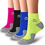Bluemaple Compression Socks for Women and Men, Compression Ankle Socks, Golf Socks,Regular wear, Fashion wear -Say Goodbye to Your Pain