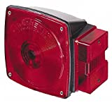 4-1/2'' Long x 4-1/2'' Wide Red Towing Lights, 12 Volt, Plastic