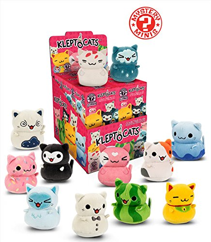 Amazon.com: Funko KleptoCats Mystery Mini Collectible Plush Figure (Pack of 3): Toys & Games