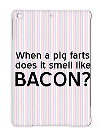 Pork Jokes Pigs Bacon Meat Jokes Farts Funny Funny TPU Black Cover