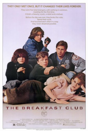 Pop Culture Graphics Breakfast Club, The (1985) - 11 x 17 - Style A from Pop Culture Graphics