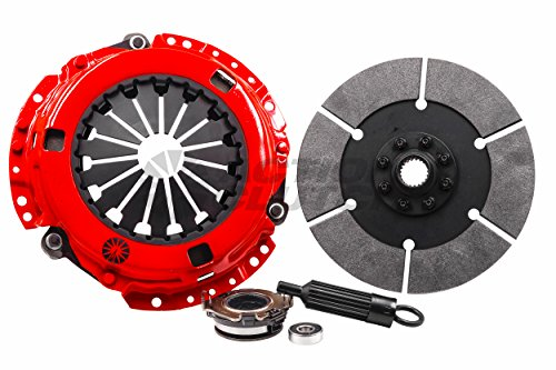 Stage 6 2MD (Iron Buttons, 6-Puck Rigid) Toyota Corolla 1980-1982 1.8L 4-SPEED clutch kit