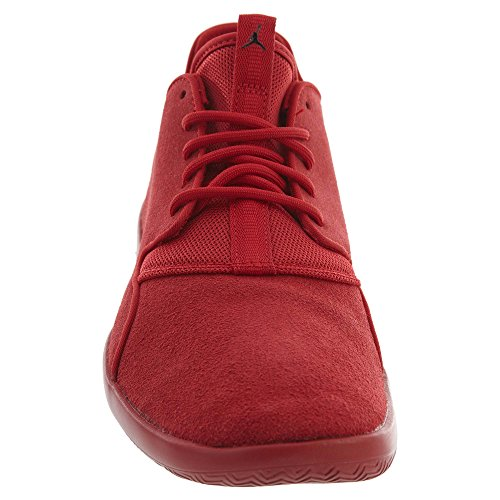 Jordan Nike Herren Eclipse Leder Laufschuh Gym Red / Gym Red