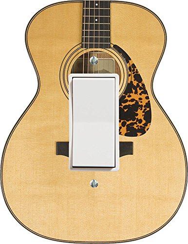 Music Treasures Co. Acoustic Guitar Decor Outlet Cover (Switchplate Plastic)