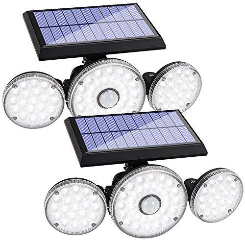 2 Pack Solar Lights Outdoor
