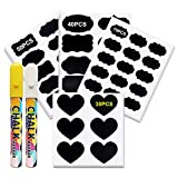 195PCS Chalkboard Labels, Premium Reusable Stickers labels for Labeling Mason Jars, Spice Jars, Craft Rooms and Closets, Kitchen