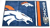 "The Northwest Company NFL Denver Broncos Tufted Rug 20"" x 30"""