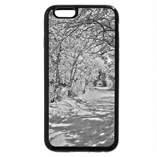 iPhone 6S Plus Case, iPhone 6 Plus Case (Black & White) - Winter9