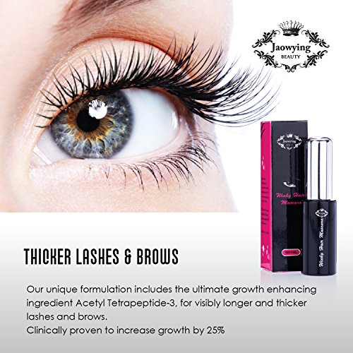 04e9cee62ef Advanced Brow & Eyelash Serum - Eyelash Growth Stimulator for Fuller,  Thicker, Sexier Lashes in Just 30 Days - 95% Natural Lash Serum for  Stronger, ...